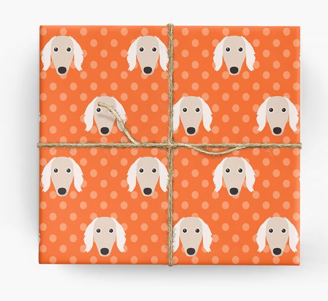 Saluki Wrapping Paper