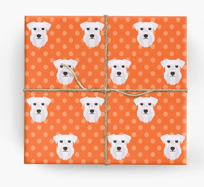 Schnauzer Wrapping Paper