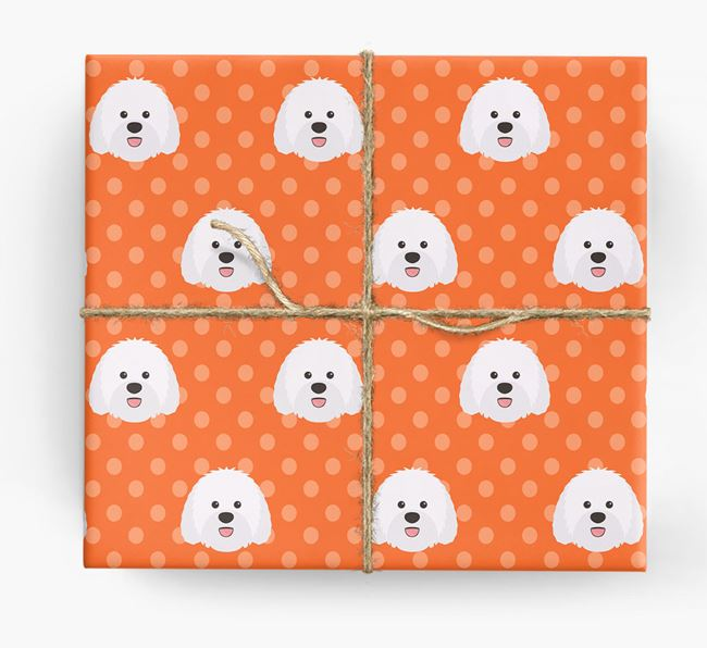 Sheepadoodle Wrapping Paper