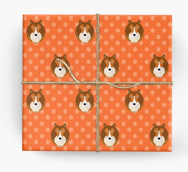 Sheltie Wrapping Paper