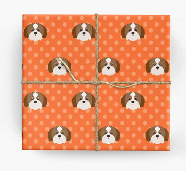 Shih-poo Wrapping Paper
