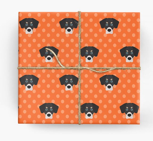 Siberian Cocker Wrapping Paper