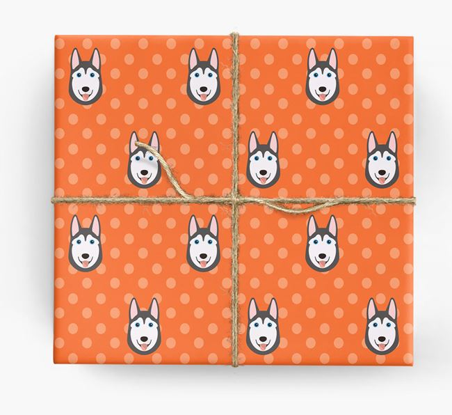 Husky Wrapping Paper