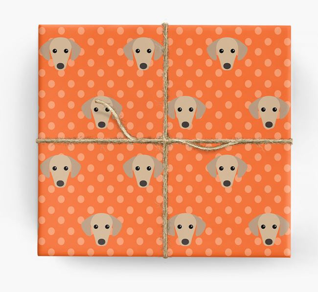 Sloughi Wrapping Paper
