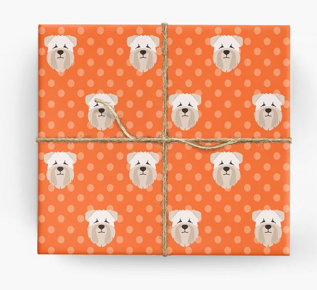 Wheaten Terrier Wrapping Paper