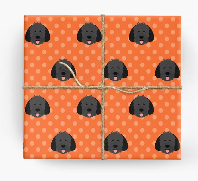 Spanish Water Dog Wrapping Paper