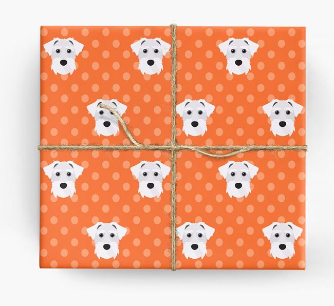Lucas Terrier Wrapping Paper