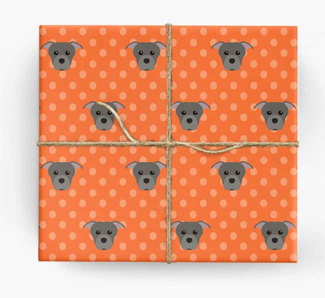 Staffie Wrapping Paper