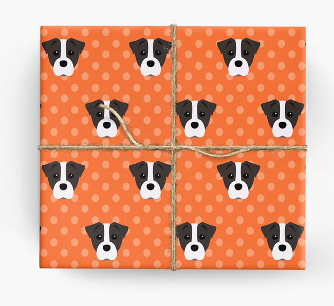 Staffy Jack Wrapping Paper