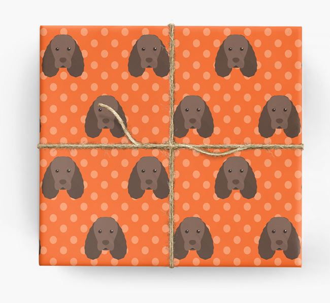 Sussex Spaniel Wrapping Paper