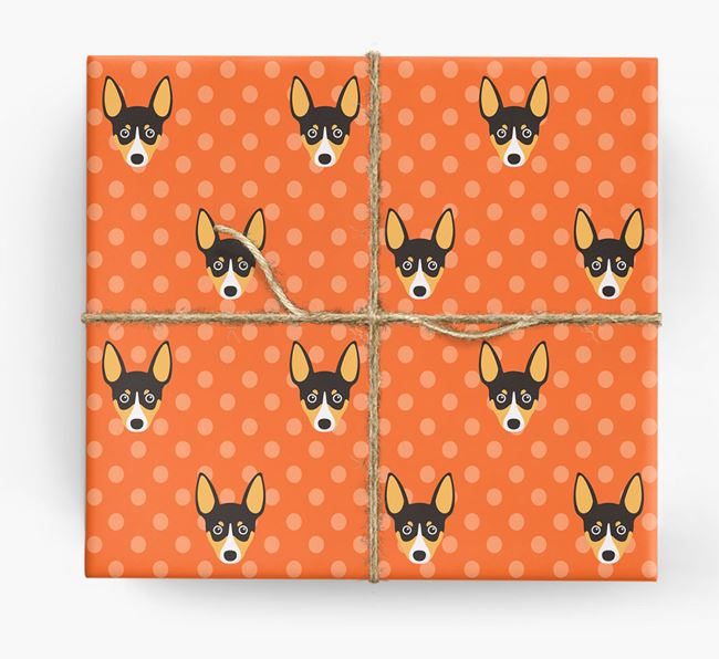 Toy Fox Terrier Wrapping Paper