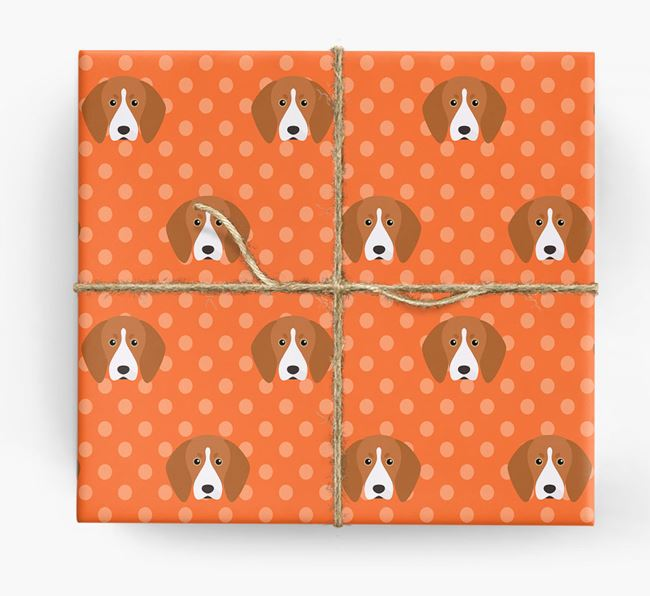 Treeing Walker Wrapping Paper