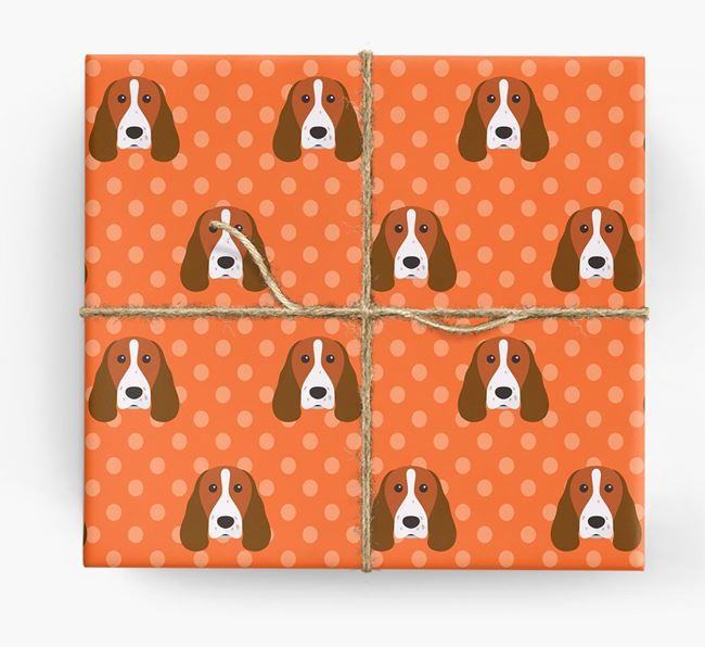 Welsh Springer Wrapping Paper
