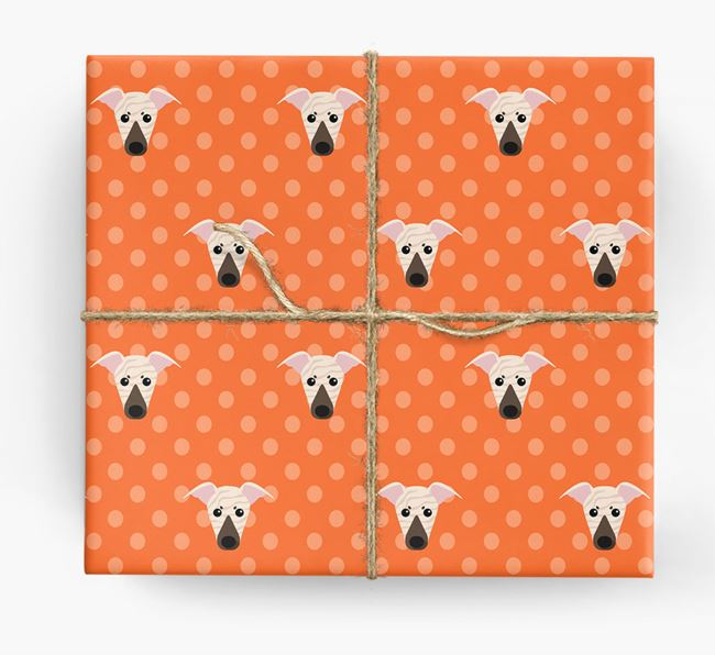 Whippet Wrapping Paper