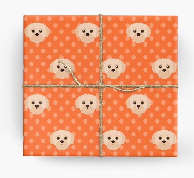 Yorkipoo Wrapping Paper