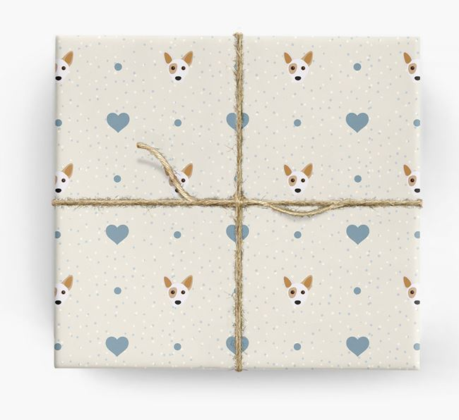 Cojack Icon & Hearts Wrapping Paper
