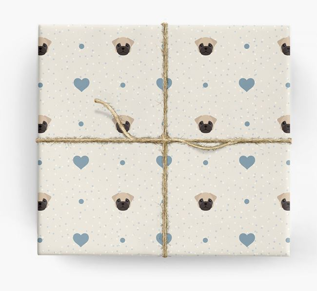 Frug Icon & Hearts Wrapping Paper