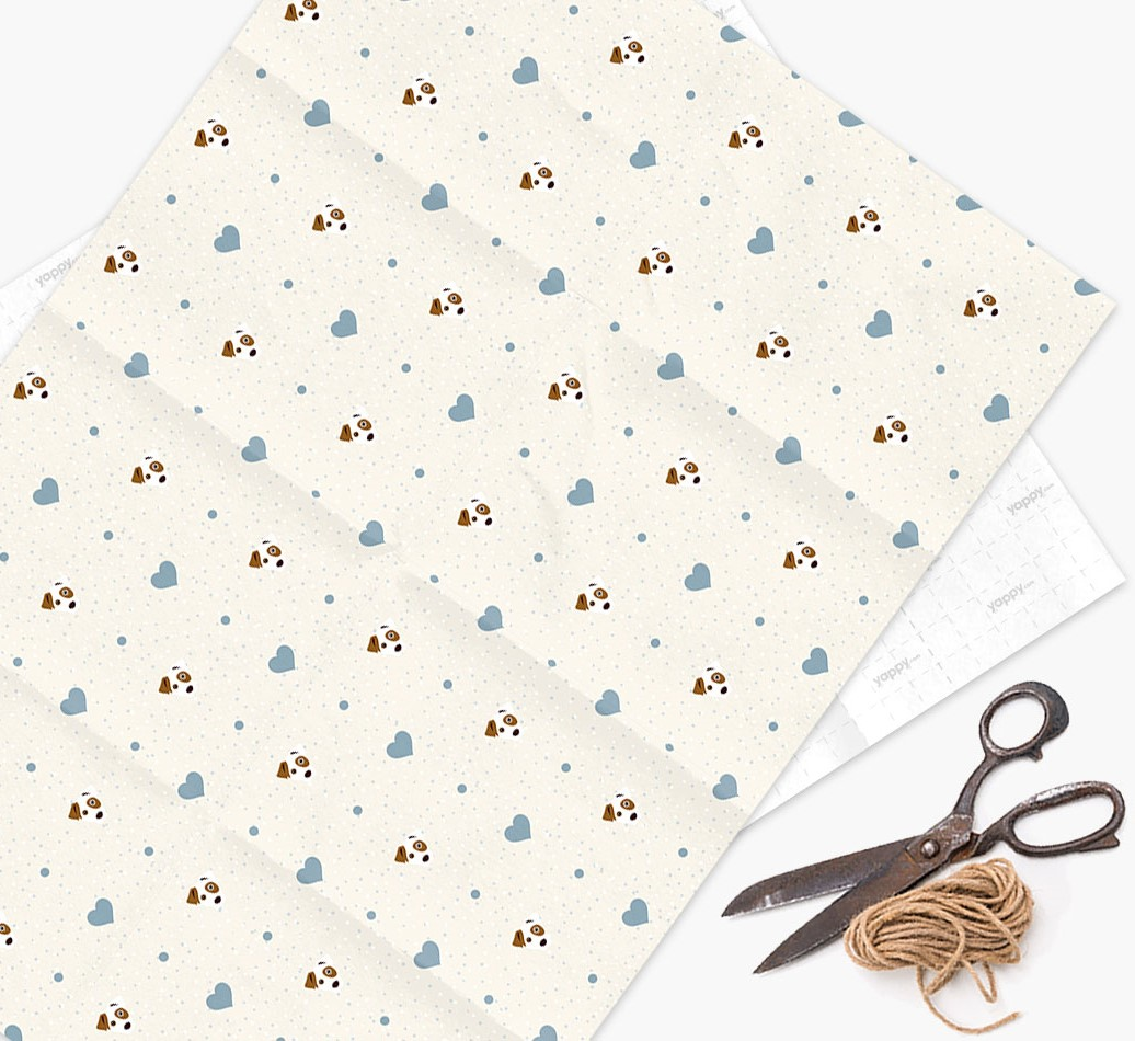 Dog Icon Wrapping Paper