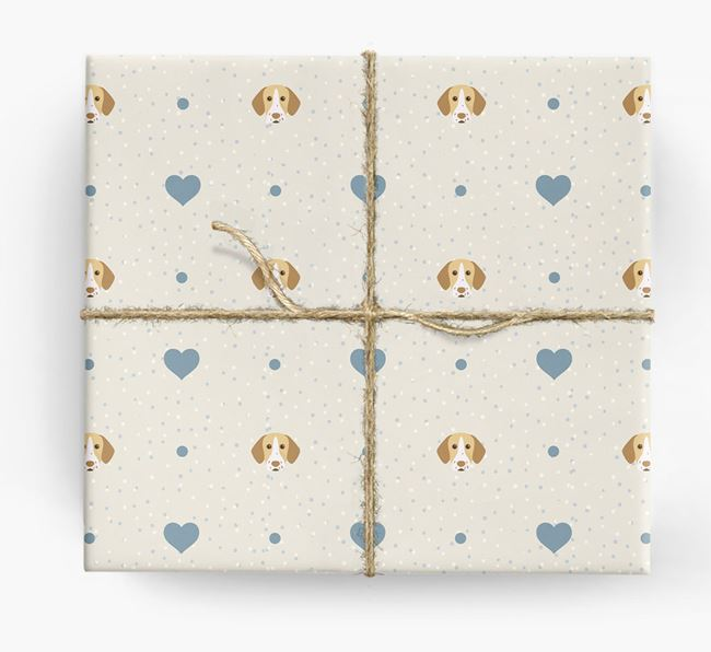 Pointer Icon & Hearts Wrapping Paper