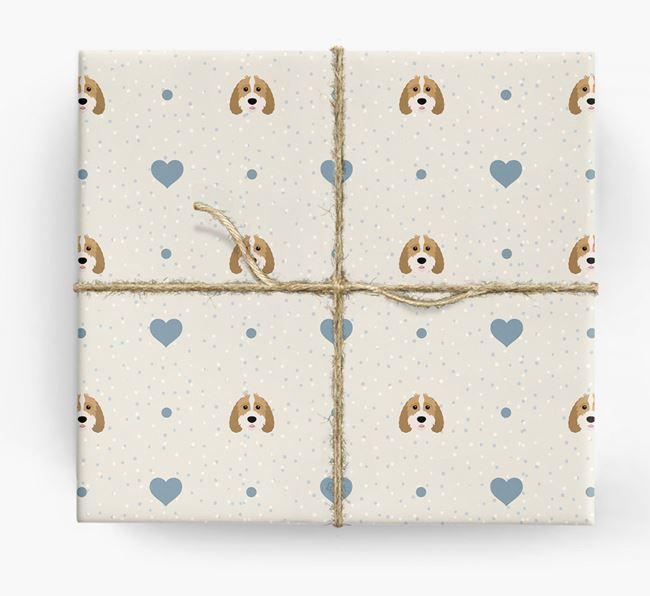 Sproodle Icon & Hearts Wrapping Paper