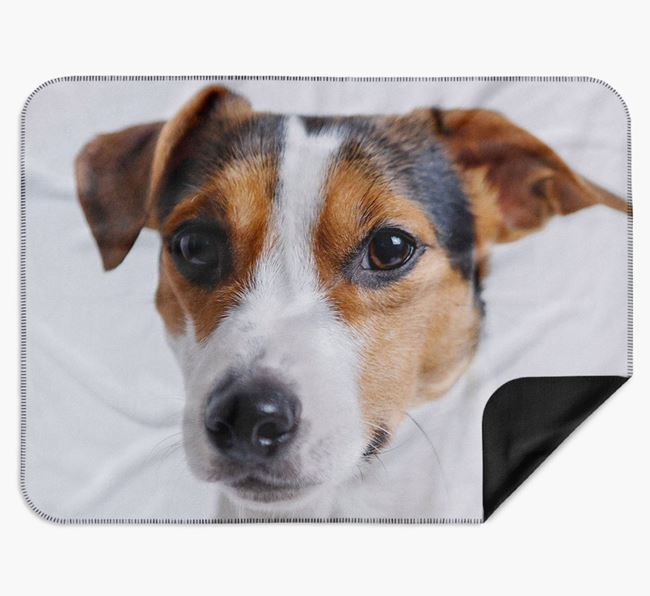 Blanket with photo of your Jack Russell Terrier