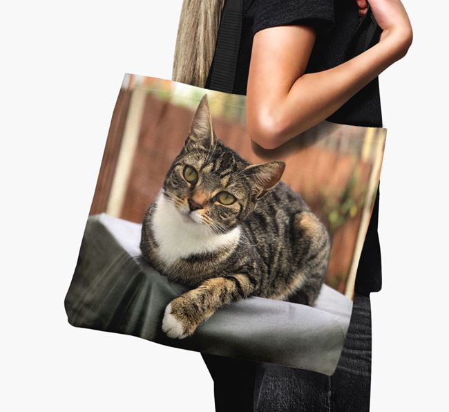 Photo Upload Canvas Bag - Personalised for your Ashera