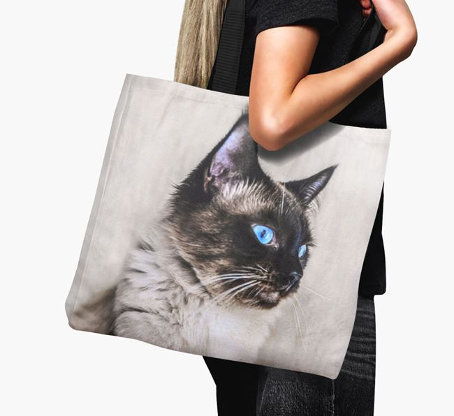 Photo Upload Canvas Bag - Personalised for your Balinese