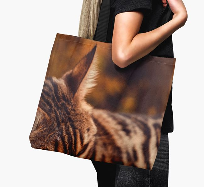 Photo Upload Canvas Bag - Personalised for your Bengal