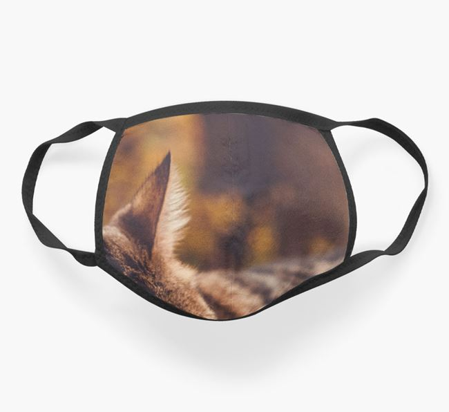 Photo Upload Face Mask - Personalize with your Bengal