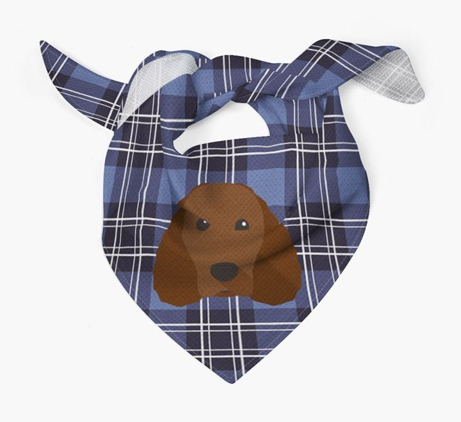 'St Andrew's Day' - Personalised American Water Spaniel Bandana