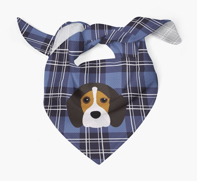 'St Andrew's Day' - Personalised Beaglier Bandana