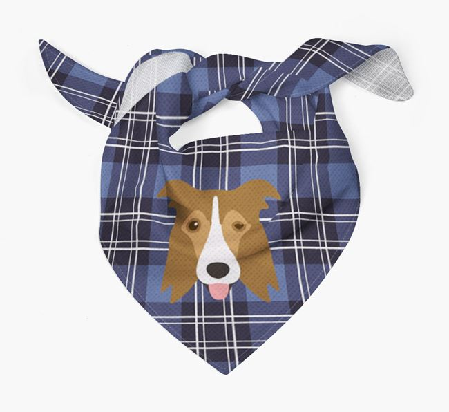 'St Andrew's Day' - Personalised Border Collie Bandana