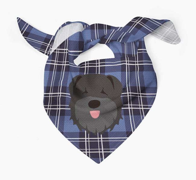 'St Andrew's Day' - Personalised Bouvier Des Flandres Bandana