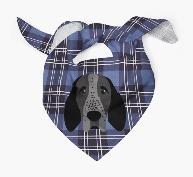 'St Andrew's Day' - Personalised Braque D'Auvergne Bandana