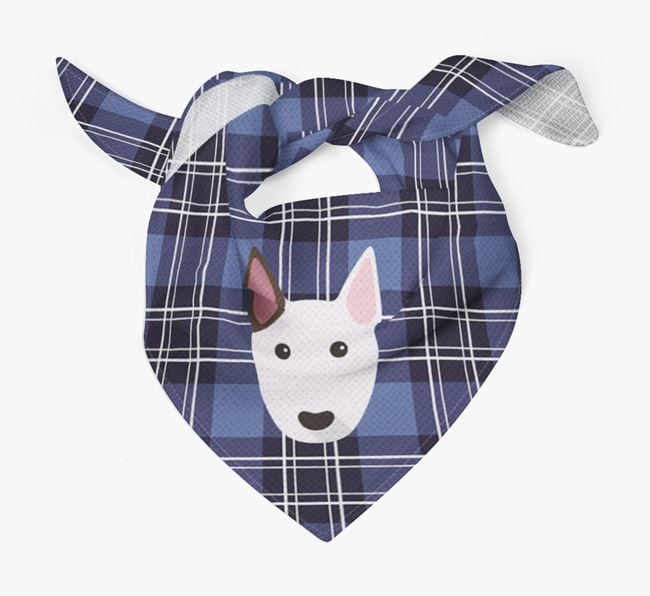 'St Andrew's Day' - Personalised Bull Terrier Bandana