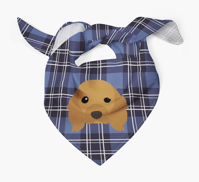 'St Andrew's Day' - Personalised Cavalier King Charles Spaniel Bandana