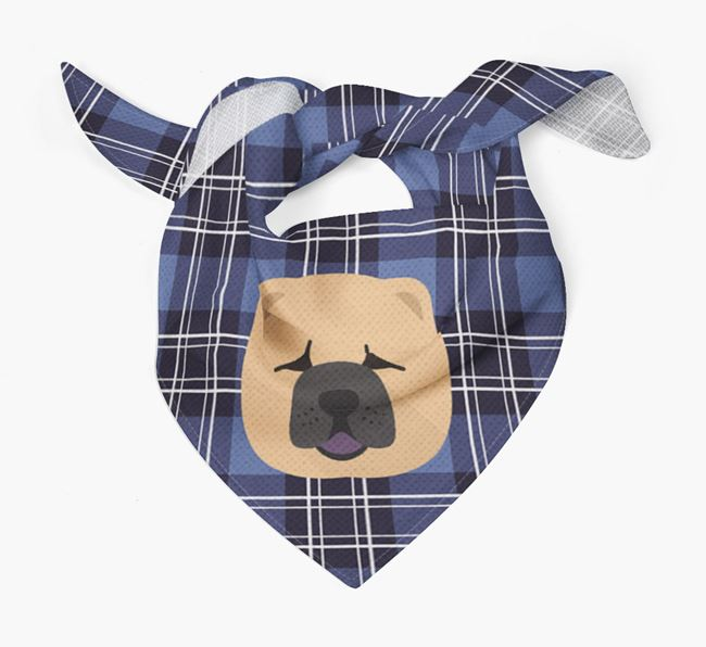 'St Andrew's Day' - Personalised Chow Chow Bandana