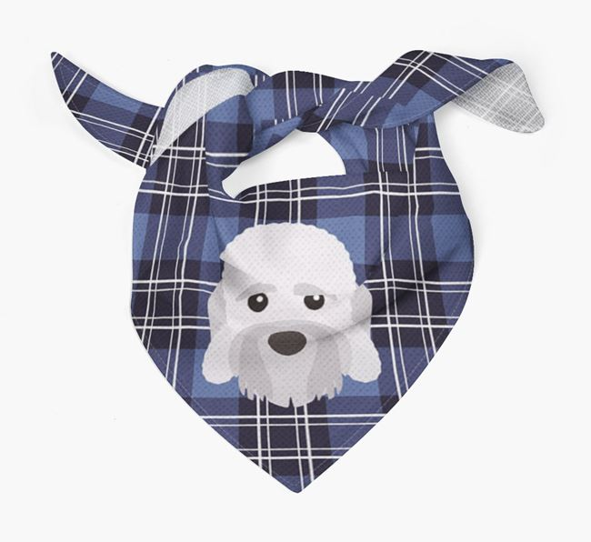 'St Andrew's Day' - Personalised Dandie Dinmont Terrier Bandana