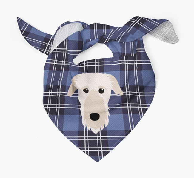 'St Andrew's Day' - Personalised Deerhound Bandana