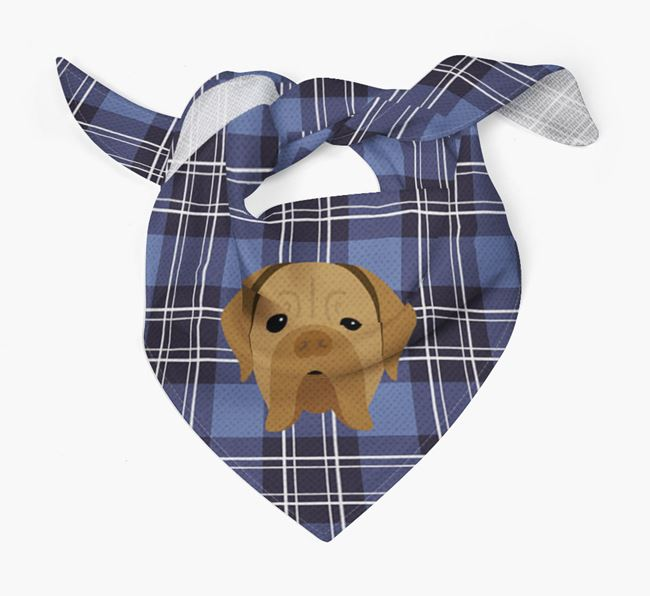'St Andrew's Day' - Personalised Dogue de Bordeaux Bandana