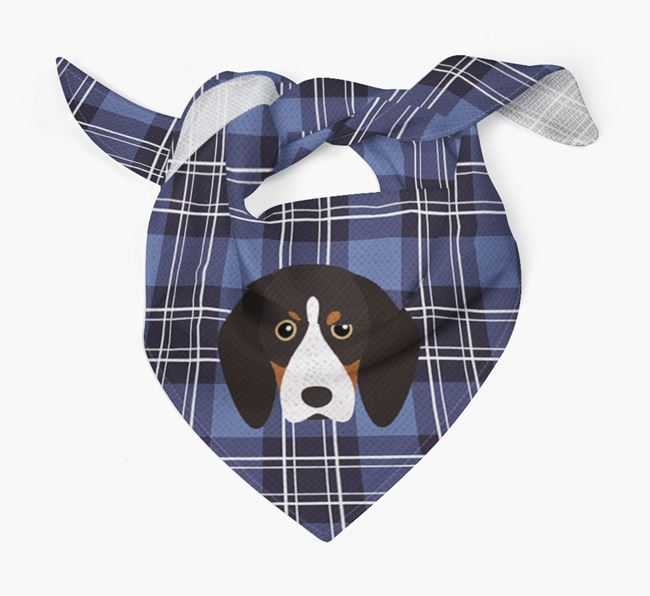 'St Andrew's Day' - Personalised English Coonhound Bandana