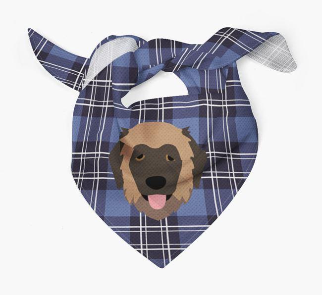 'St Andrew's Day' - Personalised Estrela Mountain Dog Bandana