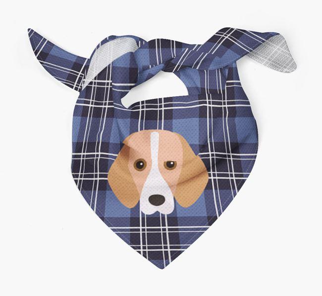 'St Andrew's Day' - Personalised Foxhound Bandana