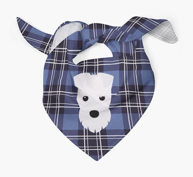 'St Andrew's Day' - Personalised Fox Terrier Bandana