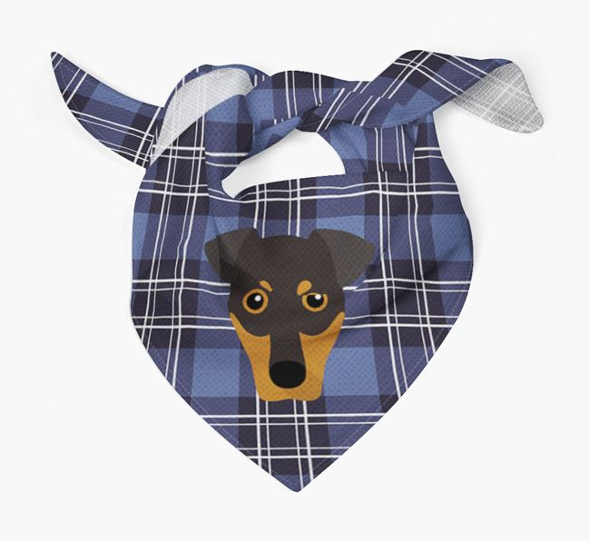 'St Andrew's Day' - Personalised German Pinscher Bandana