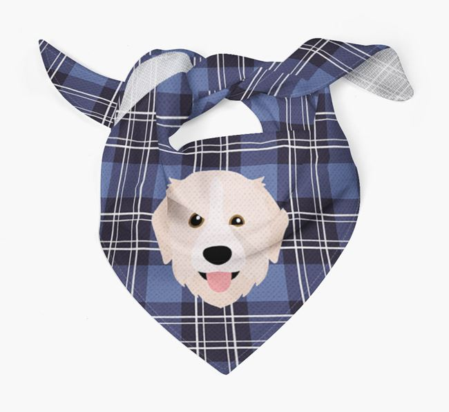 'St Andrew's Day' - Personalised Great Pyrenees Bandana