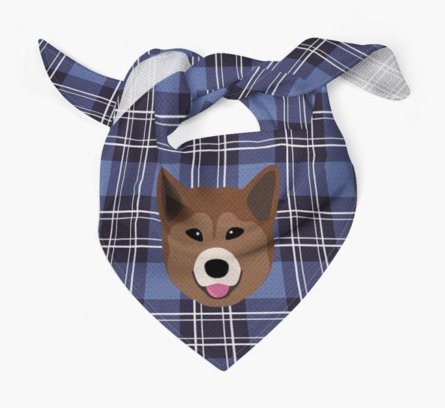 'St Andrew's Day' - Personalised Greenland Dog Bandana