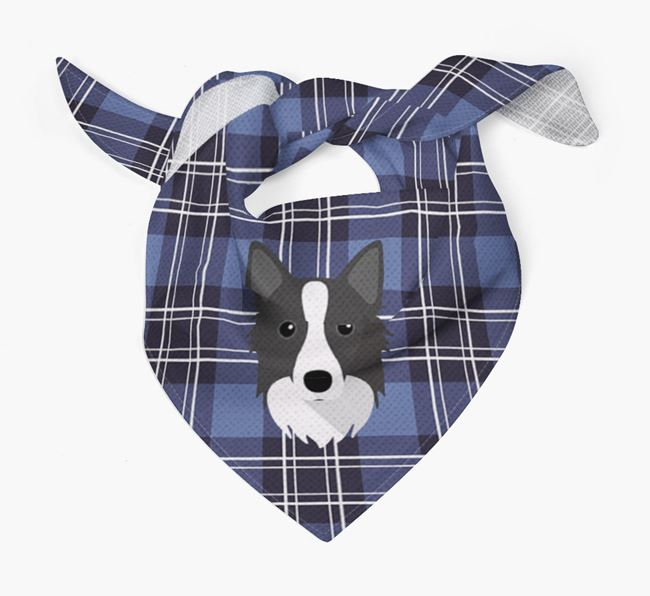 'St Andrew's Day' - Personalised Icelandic Sheepdog Bandana