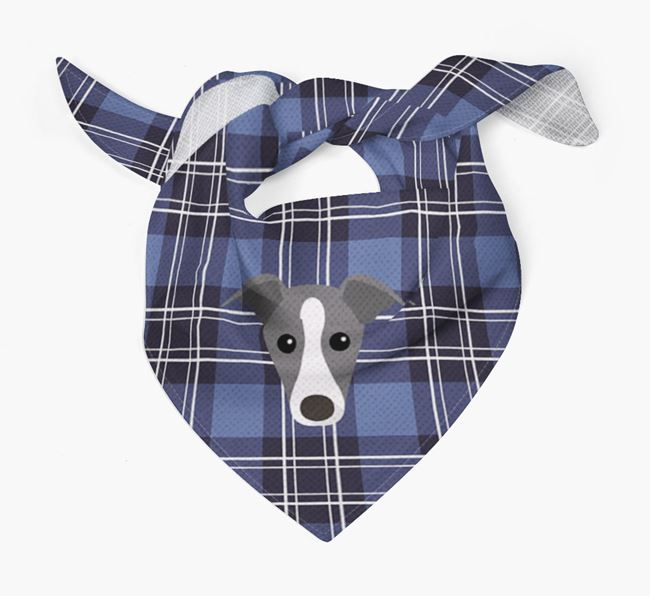 'St Andrew's Day' - Personalised Italian Greyhound Bandana