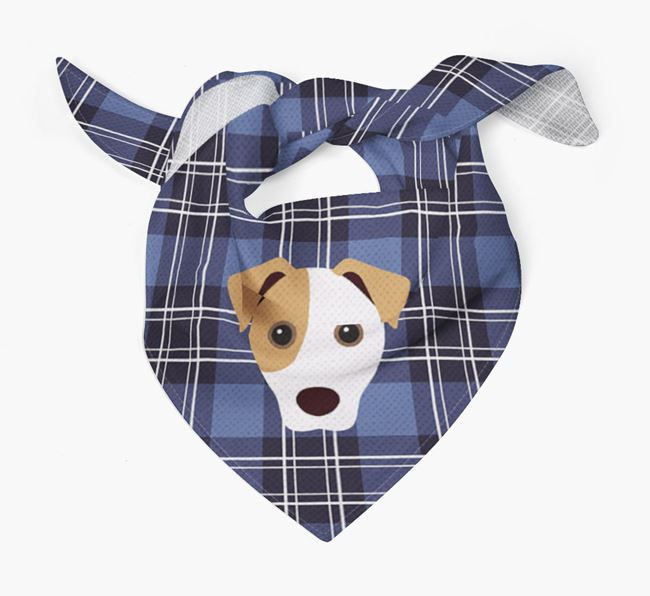 'St Andrew's Day' - Personalised Jack Russell Terrier Bandana